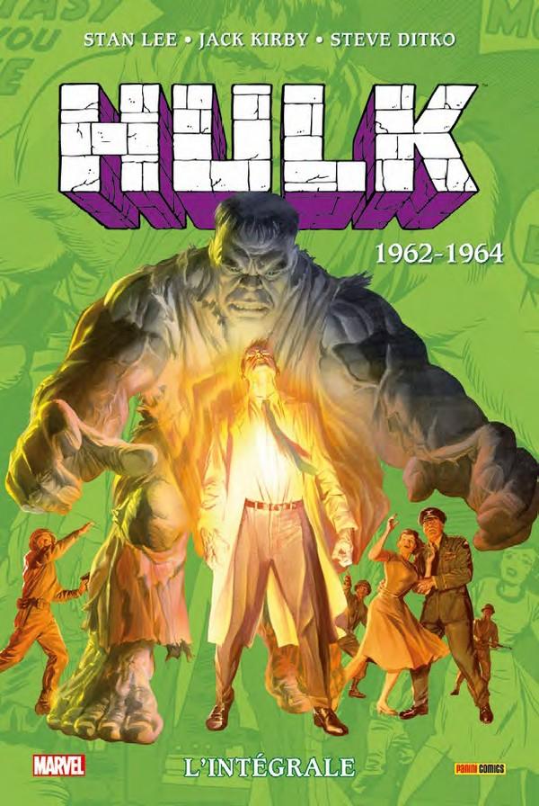 Hulk Intégrale Tome 1962-1963 (VF)
