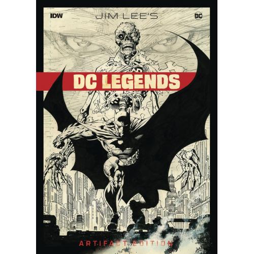 JIM LEE DC LEGENDS ARTIFACT ED HC (VO)