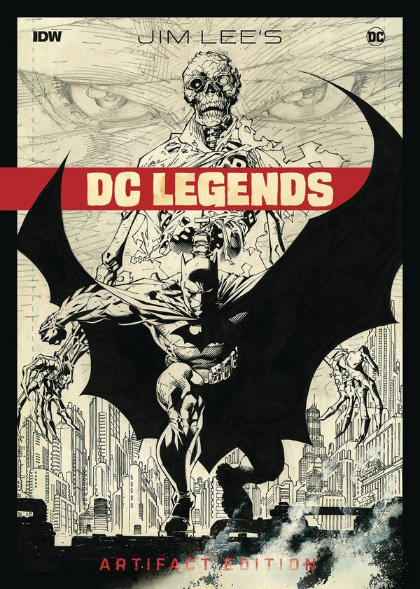 JIM LEE DC LEGENDS ARTIFACT ED HC (VO)