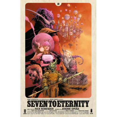 Seven to Eternity 10 (VO)