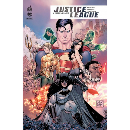 Justice League Rebirth Tome 4 (VF)