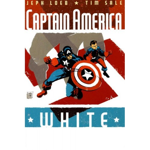 Captain America White 2