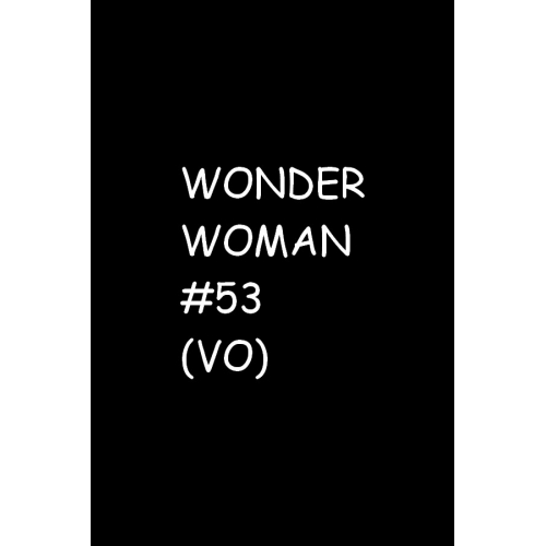 Wonder Woman 53 (VO)