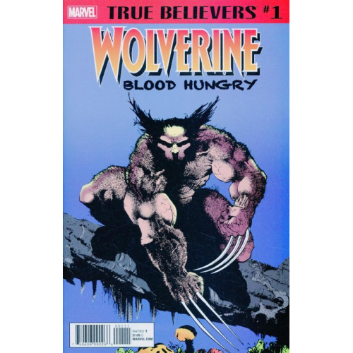 WOLVERINE BLOOD HUNGRY 1 (VO)