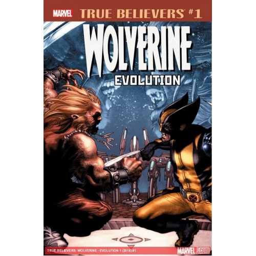 WOLVERINE EVOLUTION 1 (VO)