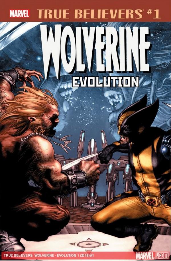 WOLVERINE EVOLUTION 1 (VO)