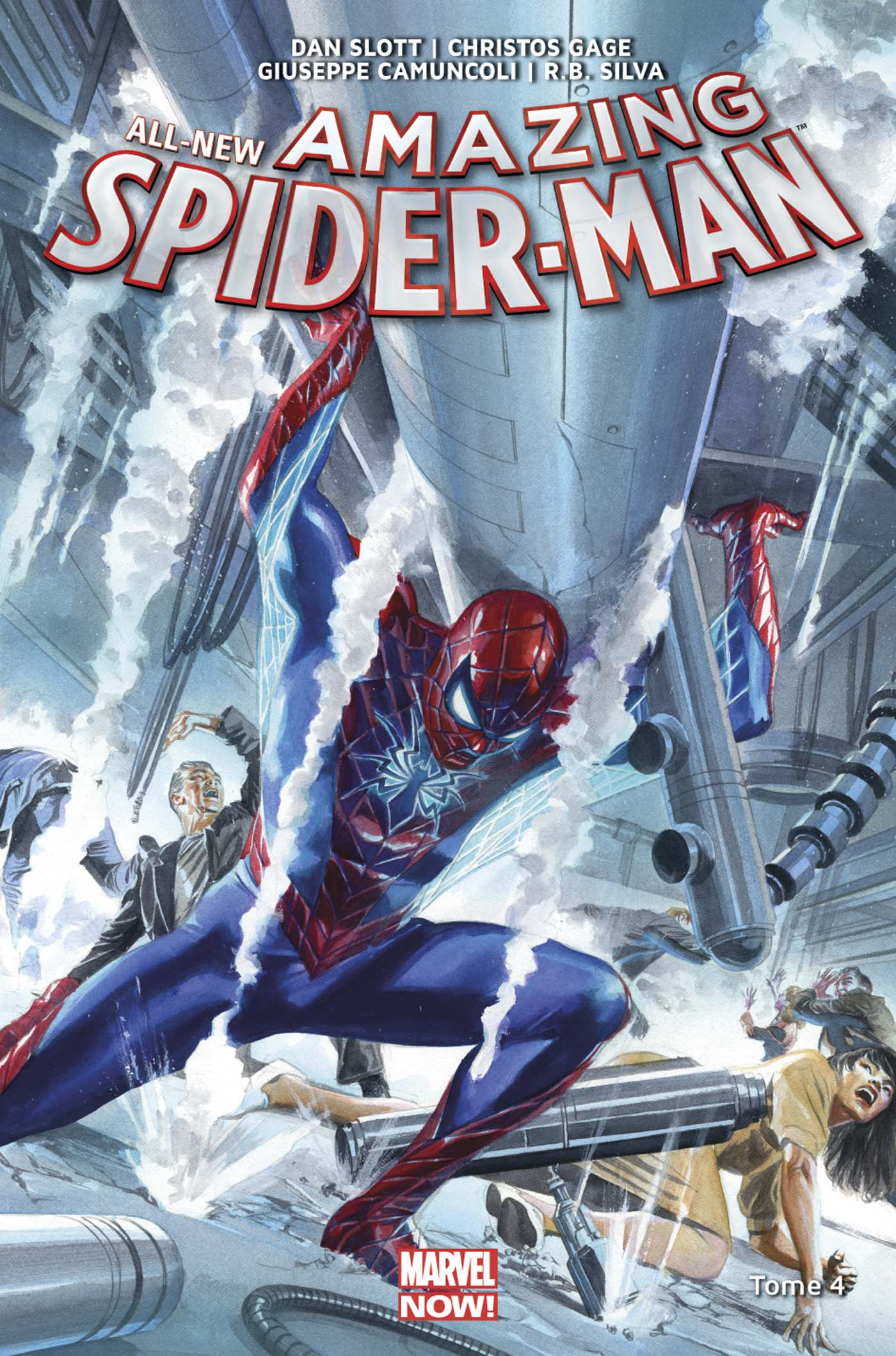 All New Amazing Spider-Man Tome 4 (VF)