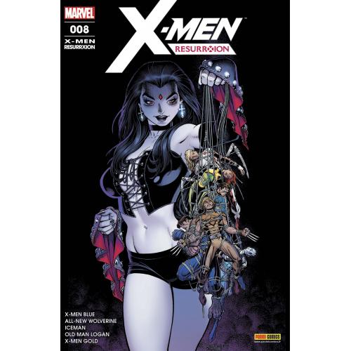 X-Men Resurrexion n°8 (VF)