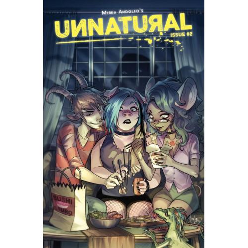 UNNATURAL 2 (OF 12) (VO)