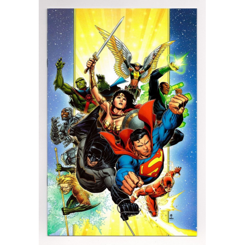 JUSTICE LEAGUE 1 GIFT VARIANT (VO) Scott Snyder - Jim Cheung