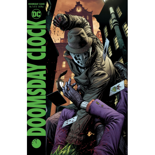 DOOMSDAY CLOCK 7 Cover B (VO)
