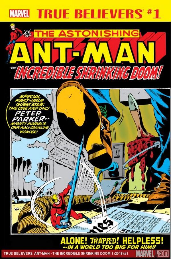 TRUE BELIEVERS ANT-MAN INCREDIBLE SHRINKING DOOM 1 (VO)