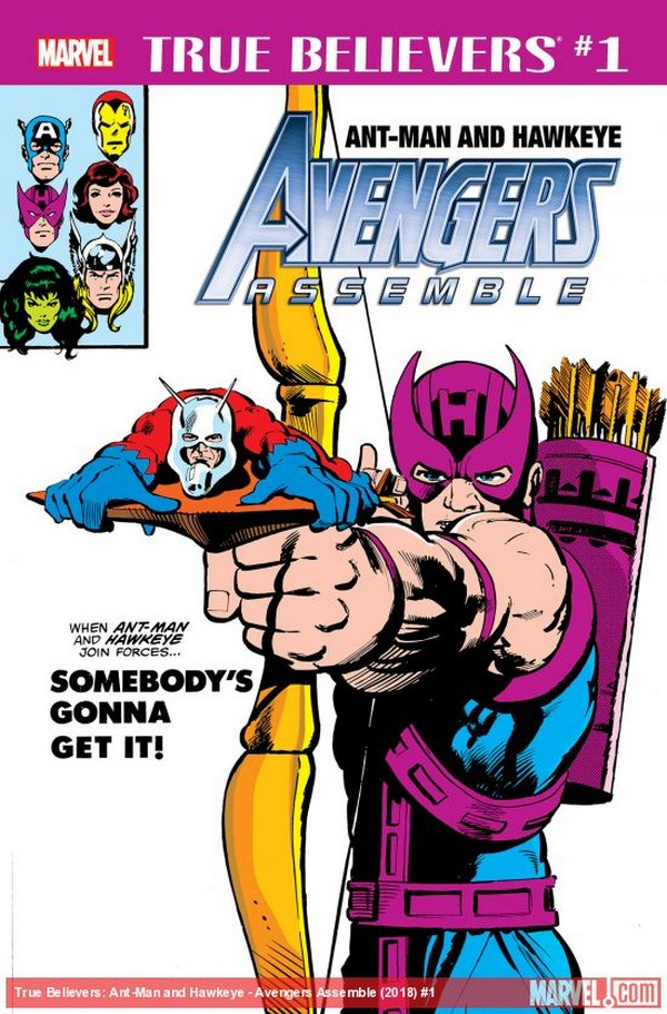 ANT-MAN & HAWKEYE AVENGERS ASSEMBLE 1 (VO)