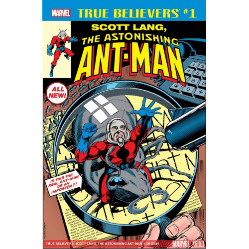 SCOTT LANG ASTONISHING ANT-MAN 1 (VO)