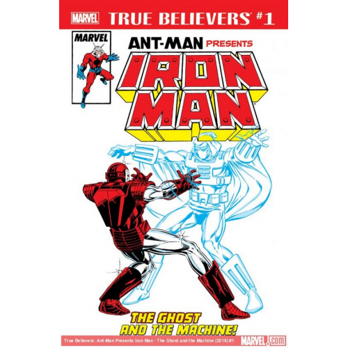 ANT-MAN PRESENTS IRON MAN GHOST MACHINE 1 (VO)