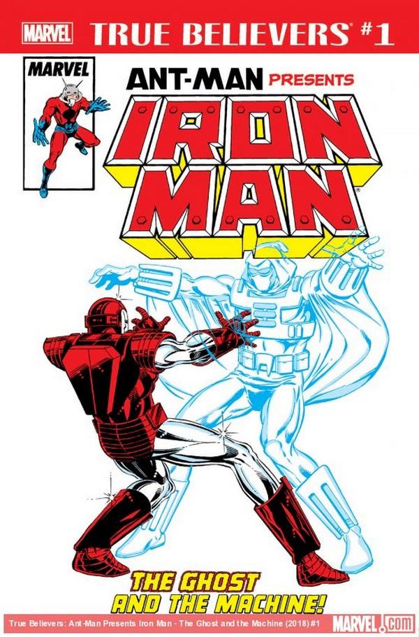 ANT-MAN PRESENTS IRON MAN GHOST MACHINE 1 (VO)
