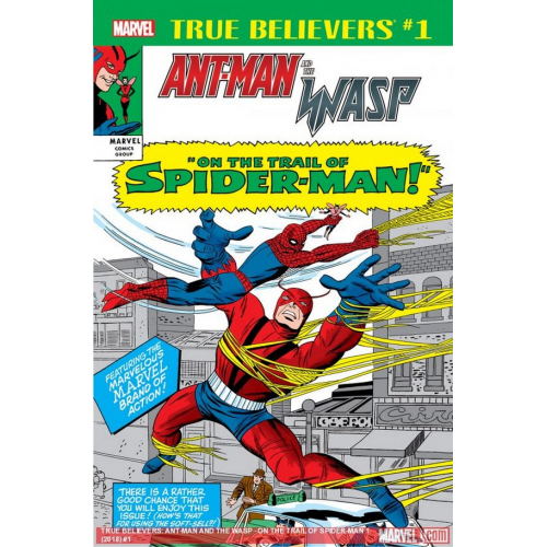 ANT-MAN & WASP TRAIL OF SPIDER-MAN 1 (VO)