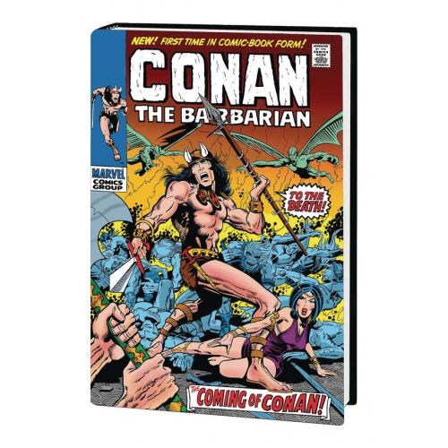 CONAN THE BARBARIAN OMNIBUS HC VOL 01 (VO)