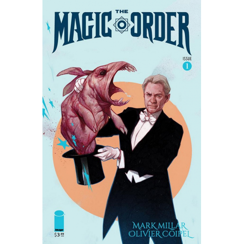 The Magic Order 1 (VO) Mark Millar - Olivier Coipel - BEN OLIVER VARIANT