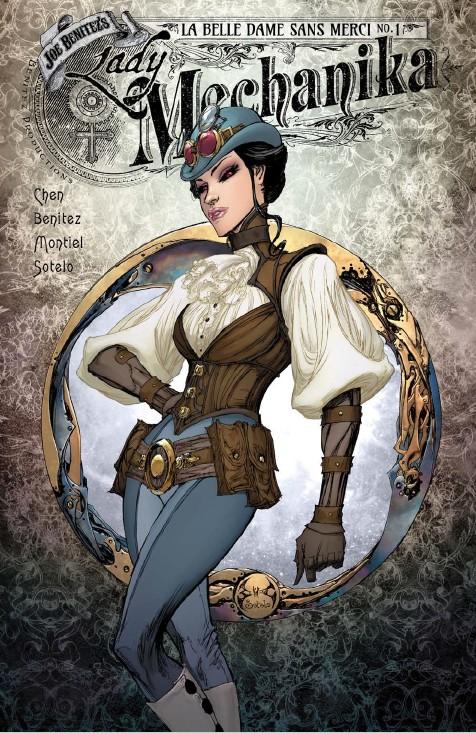 Lady Mechanika : La belle dame sans Merci 1 (VO) A
