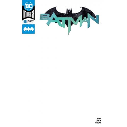 Batman 50 Blank Variant (VO)