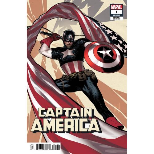 Captain America 1 Hugues Variant (VO)