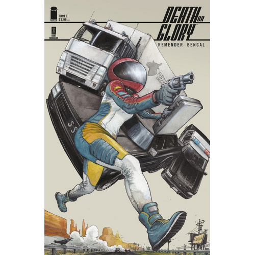 DEATH OR GLORY 3 Dalrymple Variant (VO)