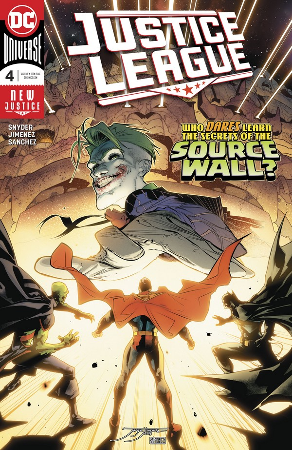 JUSTICE LEAGUE 4 (VO) Scott Snyder - Jorge Jimenez