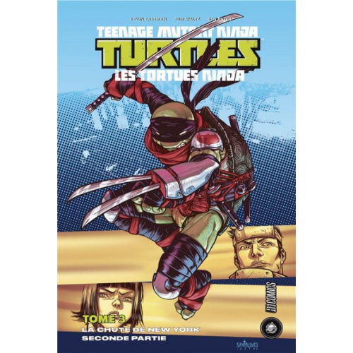 Teenage Mutant Ninja Turtles Tome 3 - La Chute de New-York (2/2) (VF)