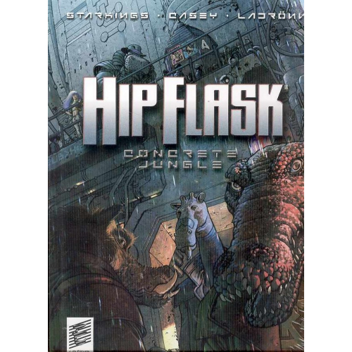 HIP FLASK CONCRETE JUNGLE HC (VO)