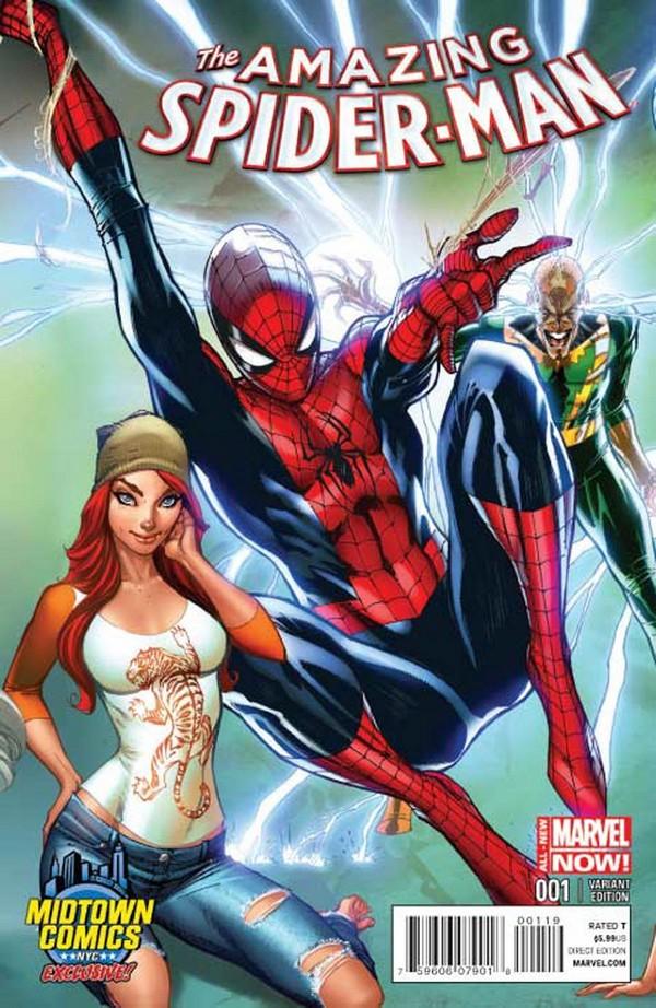 AMAZING SPIDER-MAN 1 (VO) J. SCOTT CAMPBELL VARIANT