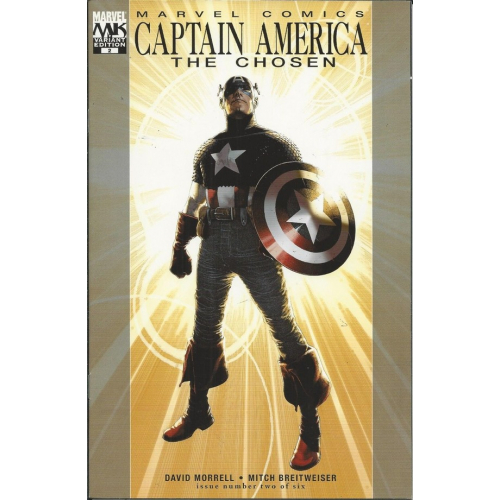 Captain America The Chosen 2 Variant Edition (VO)