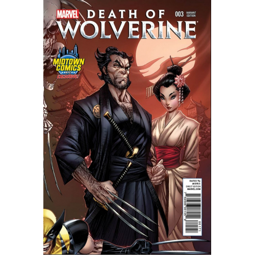 DEATH OF WOLVERINE 3 (VO) - COUVERTURE J. SCOTT CAMPBELL