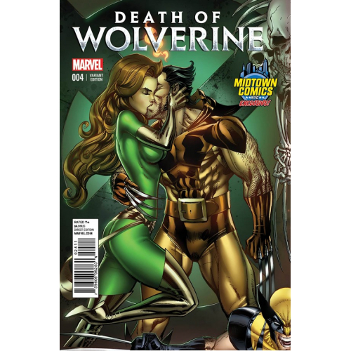 DEATH OF WOLVERINE 4 (VO) - COUVERTURE J. SCOTT CAMPBELL