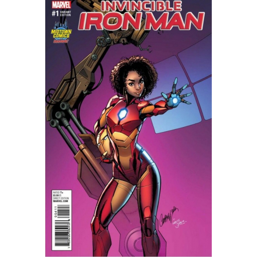 INVINCIBLE IRON MAN 1 (VO) - COUVERTURE J. SCOTT CAMPBELL