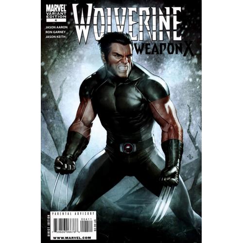 Wolverine Weapon X 4 Variant Edition (VO)