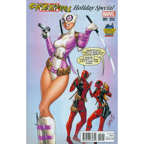 GWENPOOL HOLIDAY SPECIAL 1 (VO) J Scott Campbell Variant