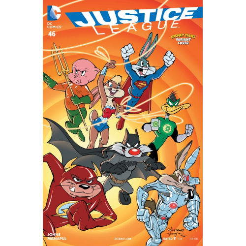 Justice League 46 Looney Tunes Variant (VO)