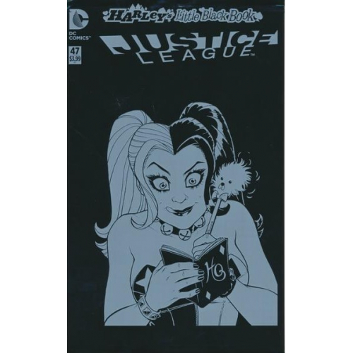 Justice League 47 Harley's Little Black Book Jim Lee Variant Edition (VO)