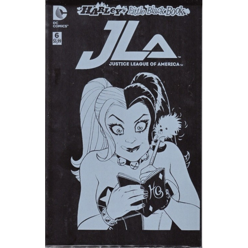 Justice League of America 6 Harley's Little Black Book Variant Edition (VO)