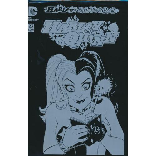 Harley Quinn 23 Harley's Little Black Book Variant Edition (VO)