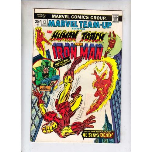 Marvel Team-Up 29 Human Torch Iron Man (VO)