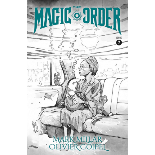 The Magic Order 2 Cover B (VO) Mark Millar - Olivier Coipel
