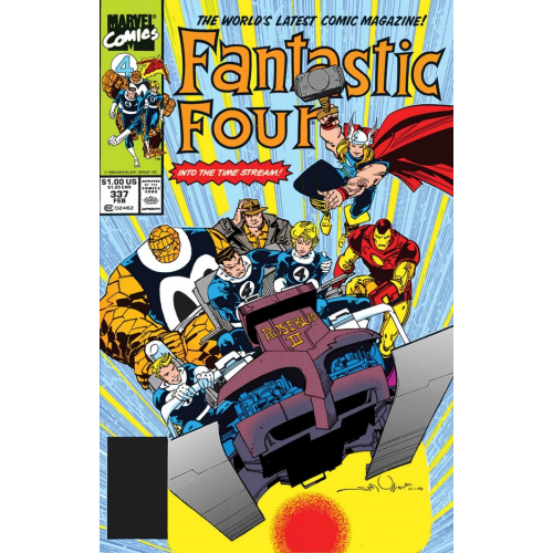 FANTASTIC FOUR BY WALTER SIMONSON 1 (VO)