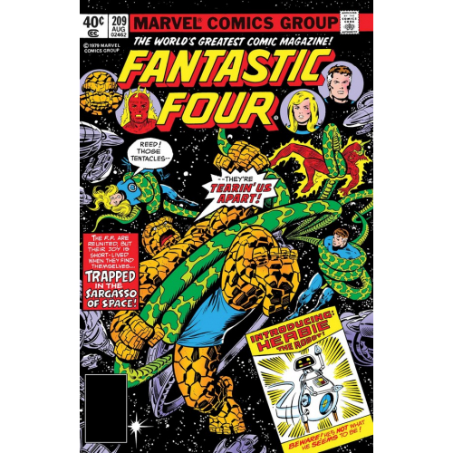 FANTASTIC FOUR COMING OF HERBIE 1 (VO)
