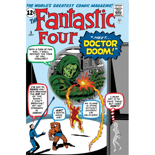FANTASTIC FOUR VS DOCTOR DOOM 1 (VO)