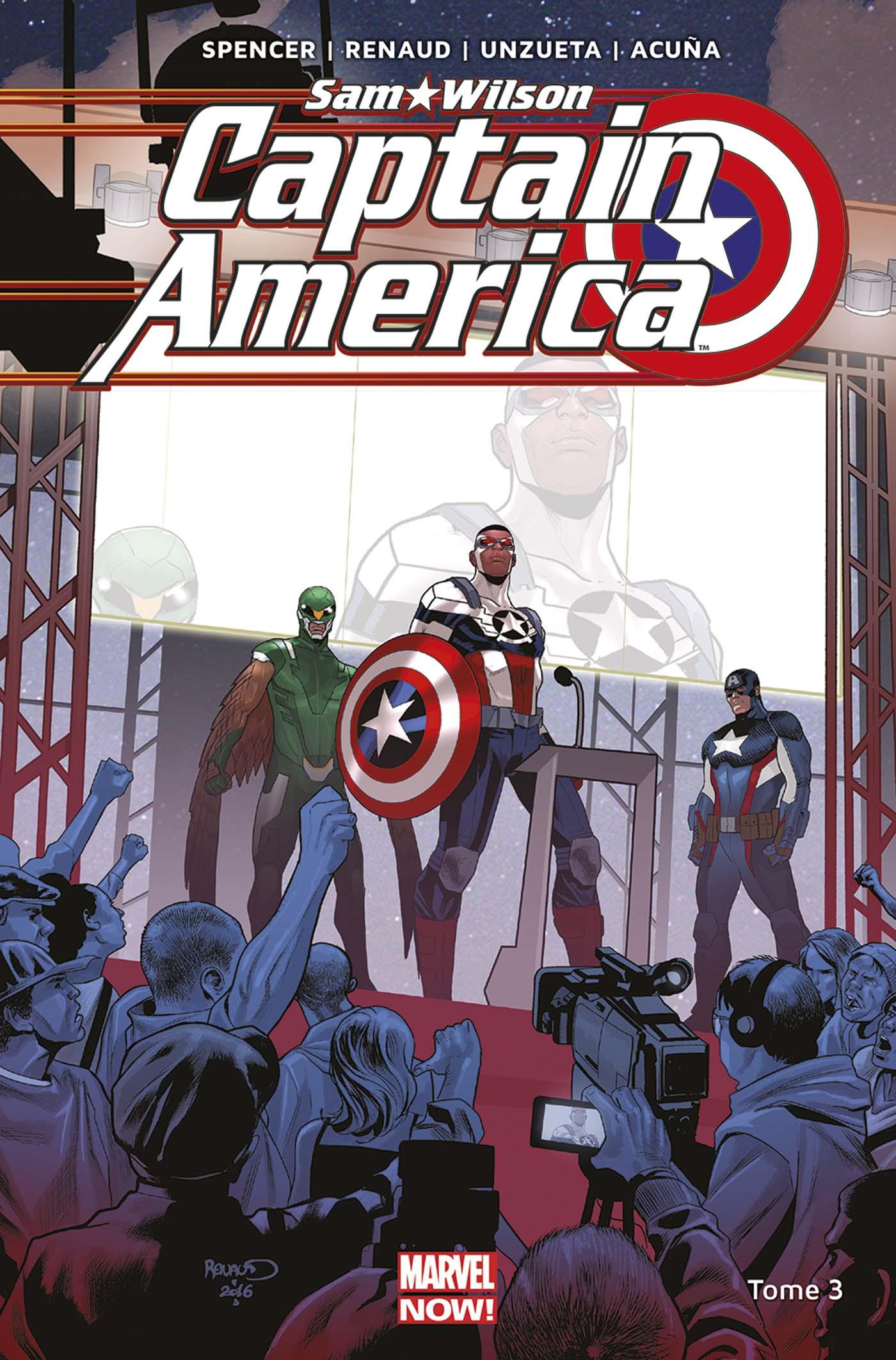 Captain America : Sam Wilson Tome 3 (VF)