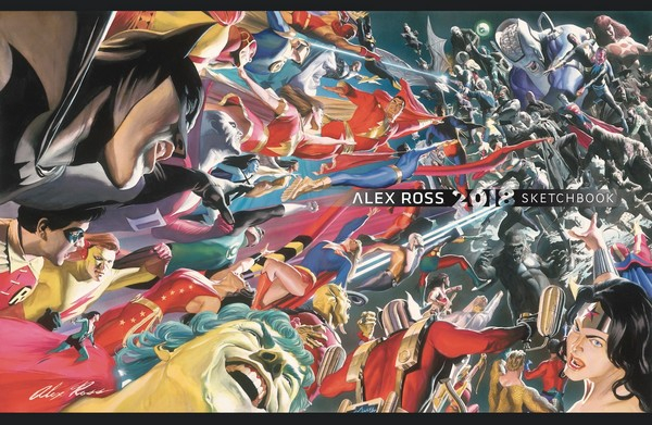 Alex Ross Sketchbook 2018 (VO)