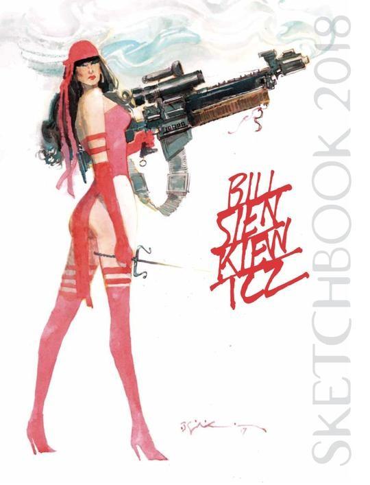 Bill Sienkiewicz Sketchbook 2018 (VO)