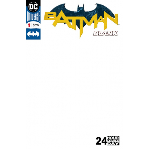 Batman Blank Comic 1 (VO)